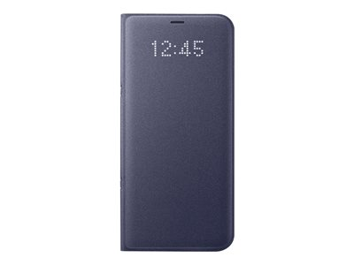 Samsung LED Wallet Cover EF-NG955 Flip cover for cell phone orchid gray for Ga