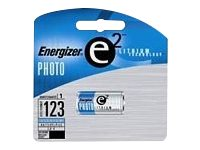 Energizer e2 Photo EL123 Camera battery CR17345 Li 1300 mAh