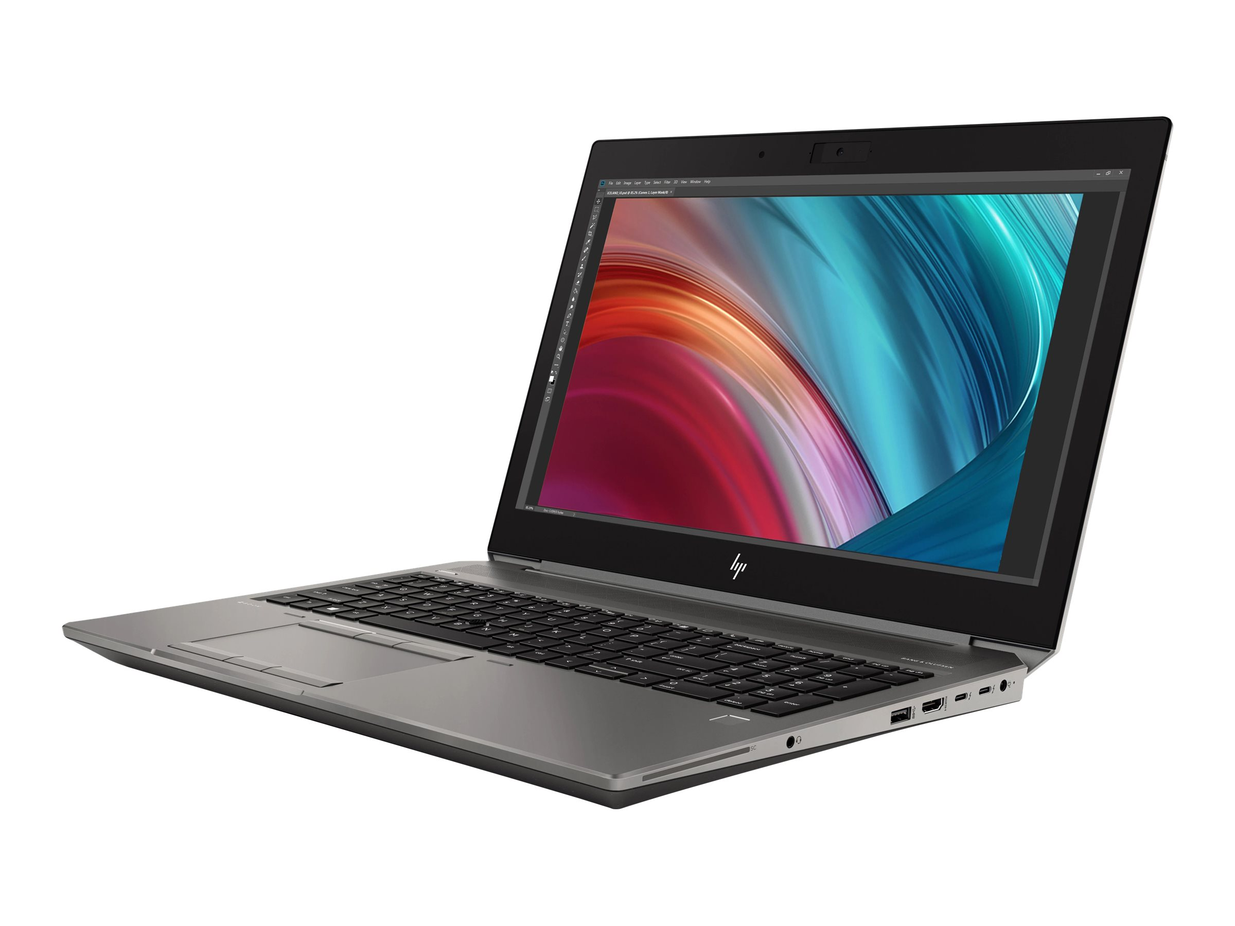 """HP ZBook 15 G6 Mobile Workstation - 15.6"""" - Core i9 9880H - 32 GB RAM - 512 GB SSD + 1 TB HDD - US"""