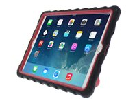 Gumdrop Hideaway Protective case for tablet rugged rubber black, red