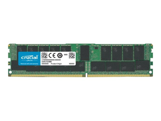 Crucial - DDR4 - module - 32 GB - DIMM 288-pin - 2933 MHz / PC4-23400 - registered