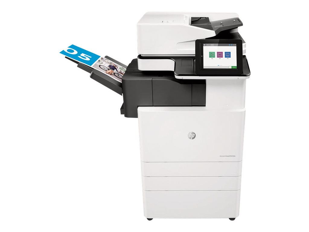 Copieur Color LaserJet Managed MFP HP E87650dn - vitesse 50ppm vue avant
