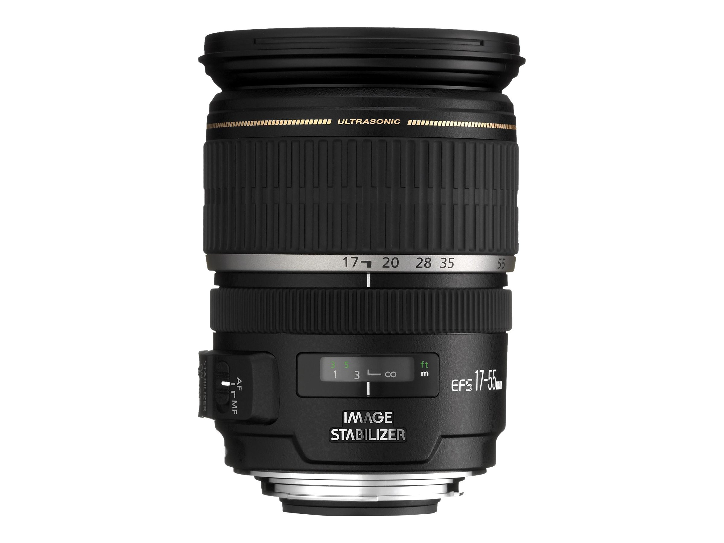 Canon EF-S zoom lens - 17 mm - 55 mm