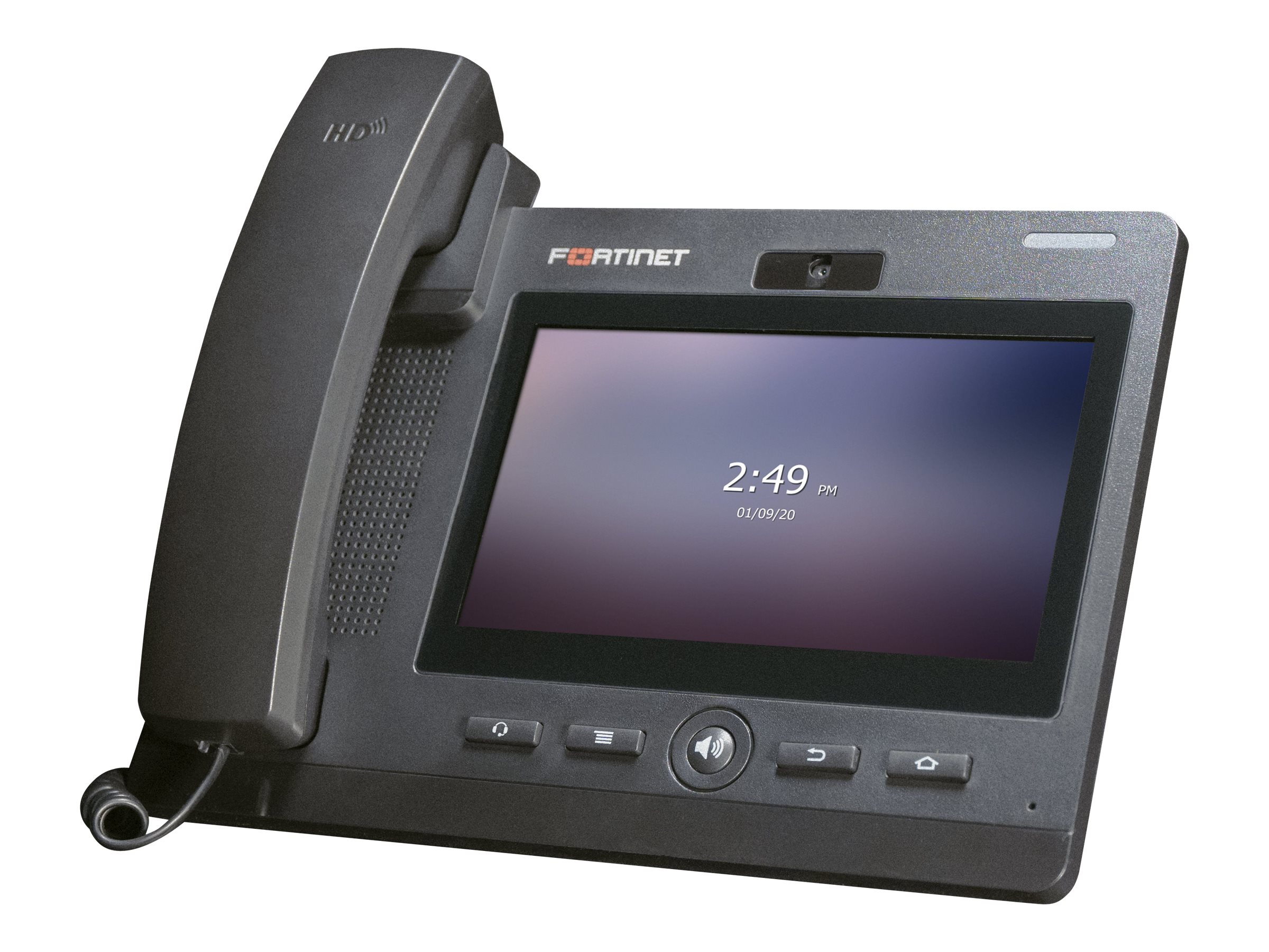 Fortinet FortiFone FON-675i - IP video phone - with digital camera - 3-way call capability