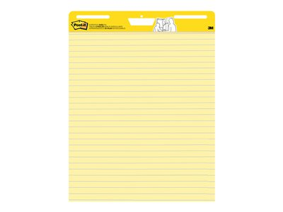 Post-it Self-Stick Easel Pad 561 Flip chart pad 25 in x 30.51 in 30 sheets yellow