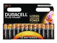 Picture of Duracell battery - 12 x AA type - Alkaline (MN1500B12)
