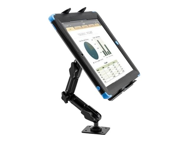 "Compulocks Vehicle Universal Tablet Holder with 4"" Arm Drill Base - mounting kit"