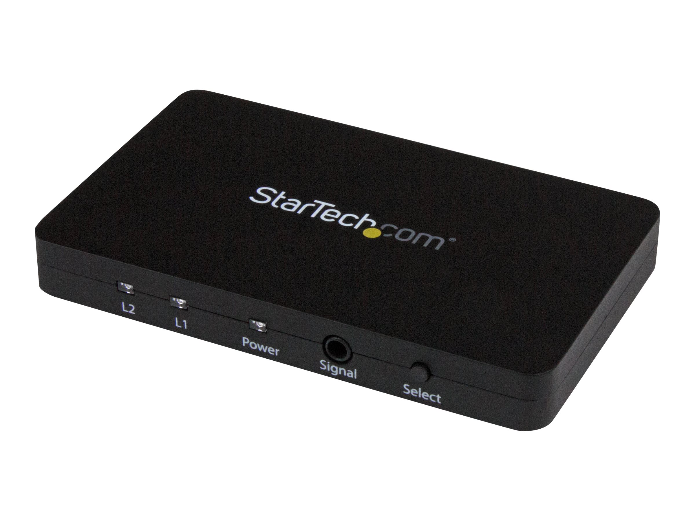 StarTech.com 2 Port HDMI Switch - Aluminum Housing and MHL Support - 2x1 HDMI Switcher Box with Support for 4K at 30Hz …