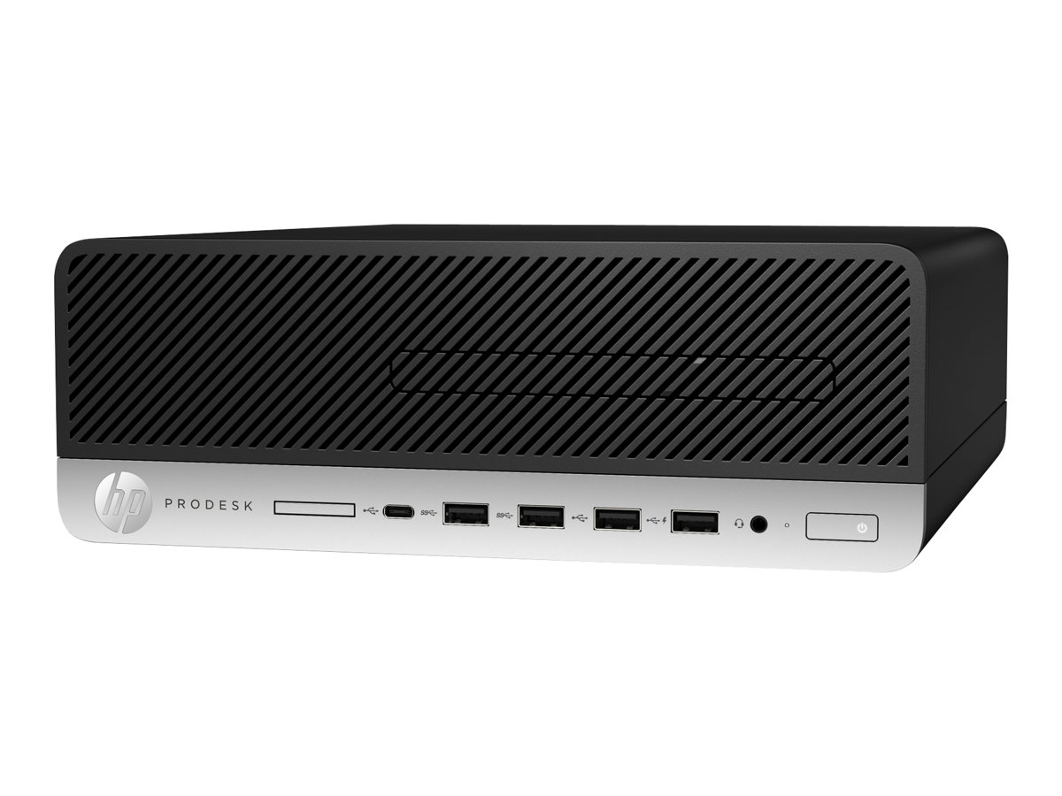 HP ProDesk 600 G3 - SFF - 1 x Core i5 7500 / 3.4 GHz - RAM 8 GB - SSD 256 GB - NVMe, HP Turbo Drive G2, TLC