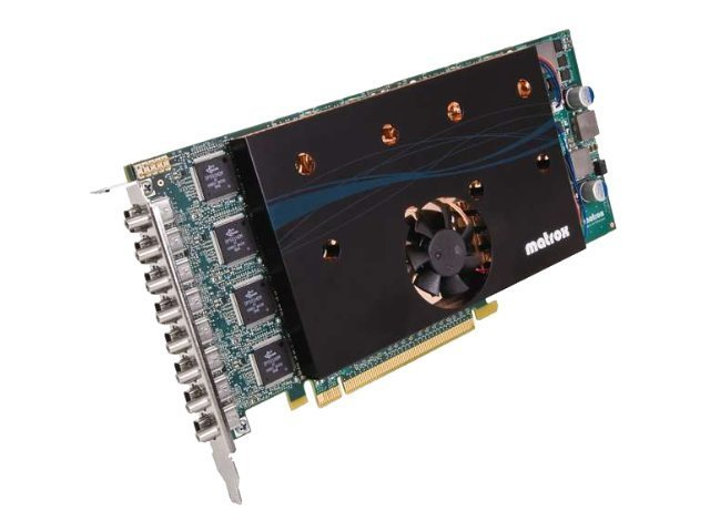 Matrox M9188 - Grafikkarten - M9188 - 2 GB DDR2 - PCIe x16 - 8 x Mini DisplayPort