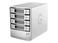 G-Technology G-SPEED eS PRO - Hard drive array - 4 TB - 4 bays (SATA-300)