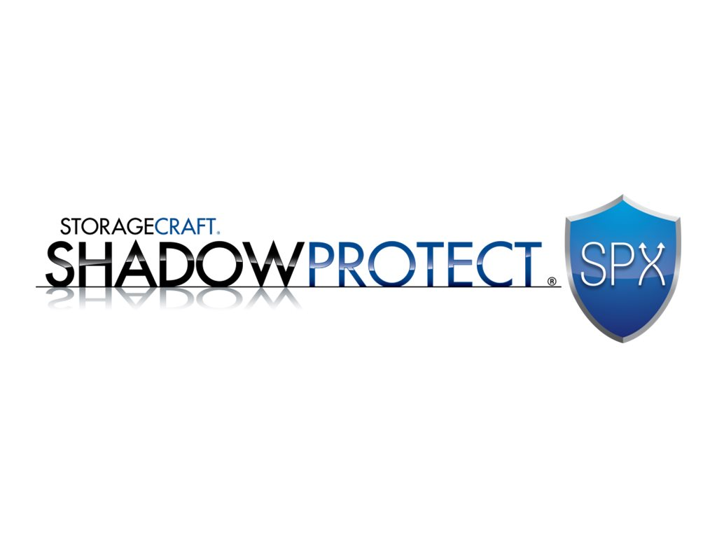 ShadowProtect SPX Server - upgrade license + 1 Year Maintenance - 1 server