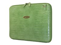Mobile Edge Faux-Croc 14.1INCH Techstyle Portfolio Notebook carrying case 14.1INCH green