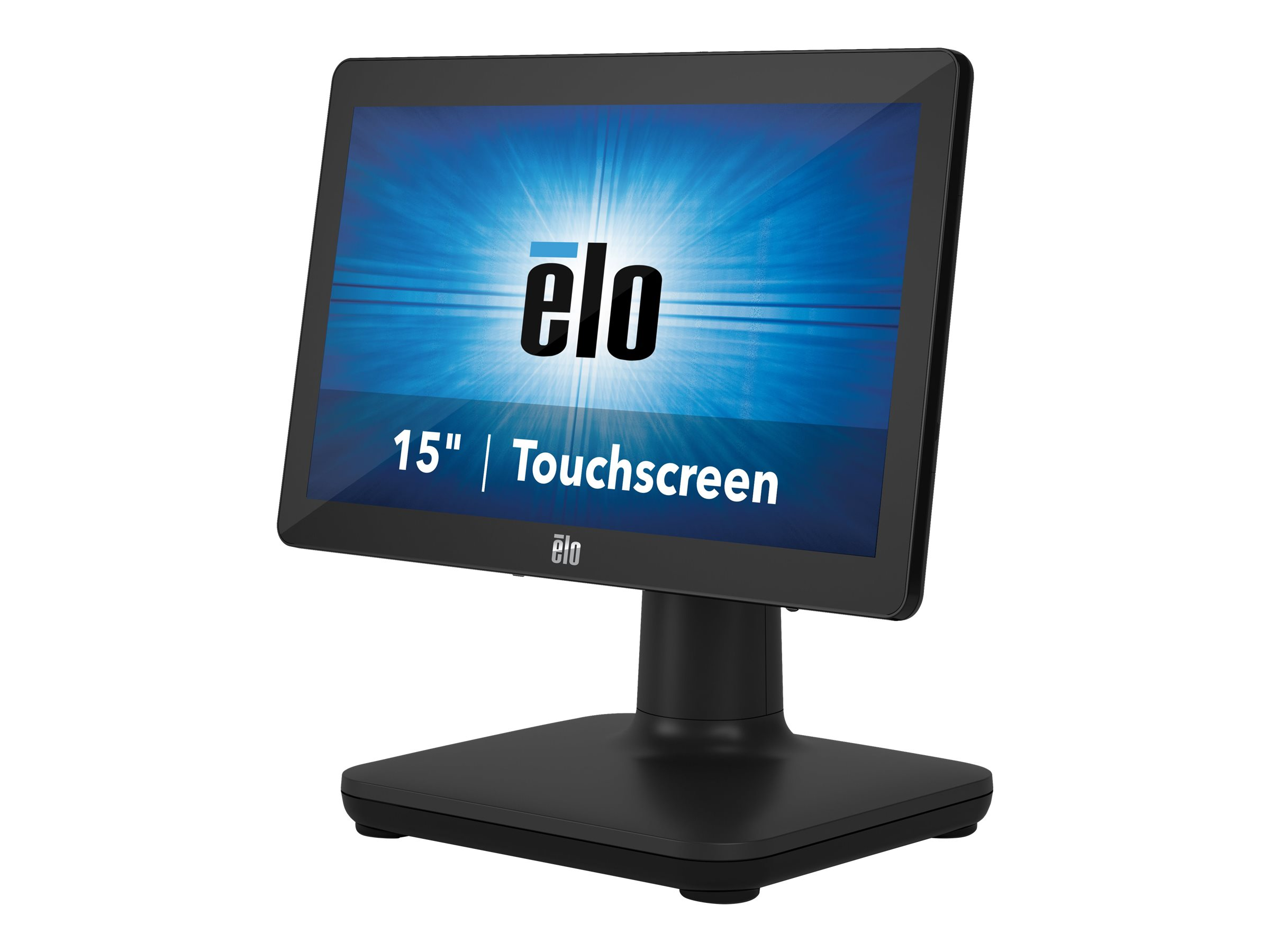 EloPOS System i2 - All-in-One (Komplettlösung) - 1 x Celeron J4105 / 1.5 GHz - RAM 4 GB - SSD 128 GB - UHD Graphics 600