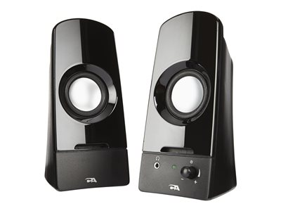 Cyber Acoustics CURVE Series CA-2050 Sonic Speakers for PC 3 Watt (total)