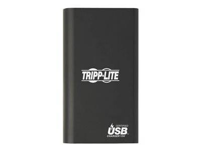 Tripp Lite Portable Charger - 2x USB-A, USB-C with PD Charging, 10,050mAh Power Bank, Lithium-Ion, USB-IF, Black power bank - Li-Ion - USB Type A, USB-C - 30 Watt