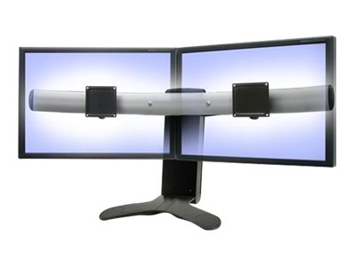 product ergotron lx widescreen dual display lift stand stand