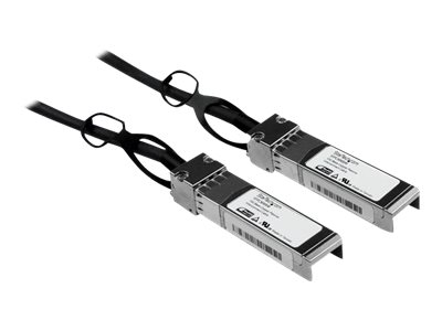 StarTech.com Cisco SFP-H10GB-CU5M Compatible SFP+ 10-Gigabit Ethernet Passive Twinax Direct Attach Cable - 5 m (16.4 ft…