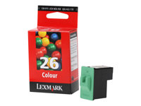 Lexmark Cartridge No. 26 - Gelb, Cyan, Magenta