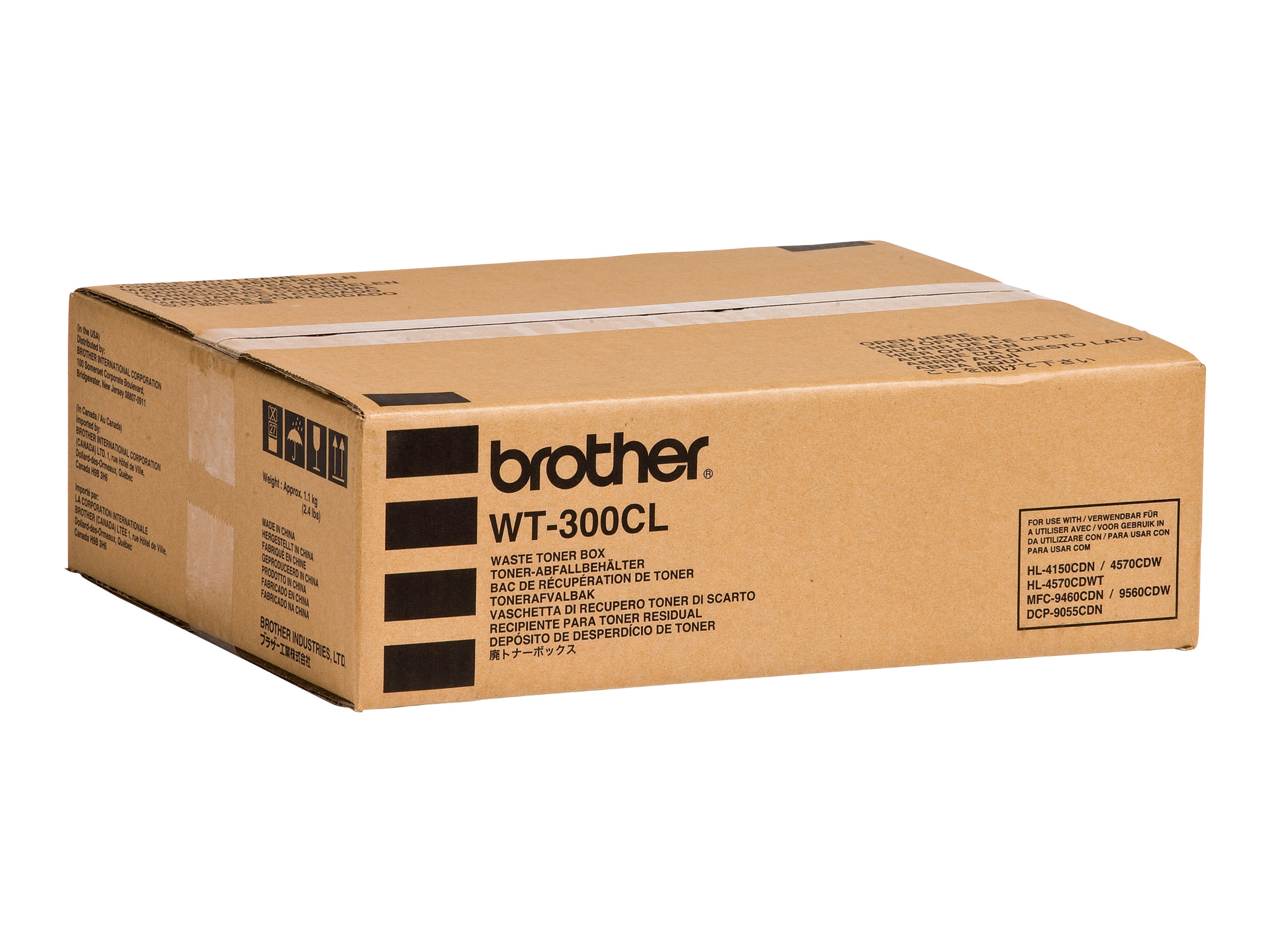 Brother WT300CL - Tonersammler - für Brother DCP-9055, 9270, HL-4140, 4150, 4570, MFC-9460, 9465, 9560, 9970