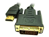 Link Depot Video cable HDMI (M) to DVI-D (M) 3.3 ft shielded