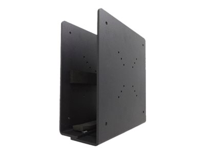 Thin Client Holder (attach between monitor and mount) - Black