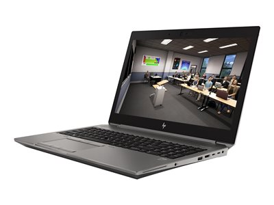 HP ZBook 15 G6 Mobile Workstation 15.6' I9-9880H 1TB NVIDIA Quadro RTX 3000 / Intel UHD Graphics 630 Windows 10 Pro til Workstations 64-bit