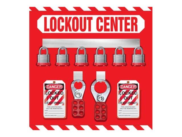 Panduit - lockout center board