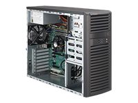 Supermicro SuperWorkstation 5037A-iL - MDT - RAM 0 MB - no HDD - no graphics - GigE - monitor: none