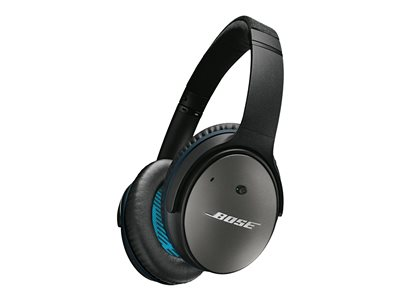 Bose QuietComfort 25 Acoustic Noise Cancelling Kabling Sort Hovedtelefoner