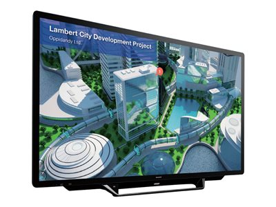 Sharp PN-L705H 70INCH Class (69.5INCH viewable) Aquos Board LED display