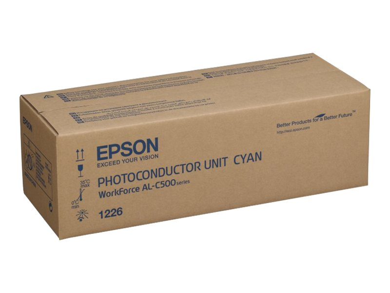 Epson - Cyan - photoconducteur - pour WorkForce AL-C500DHN, AL-C500DN, AL-C500DTN, AL-C500DXN