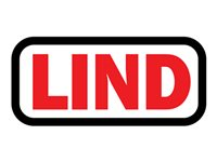 Lind Power cable IEC 60320 C5 6.6 ft United Kingdom