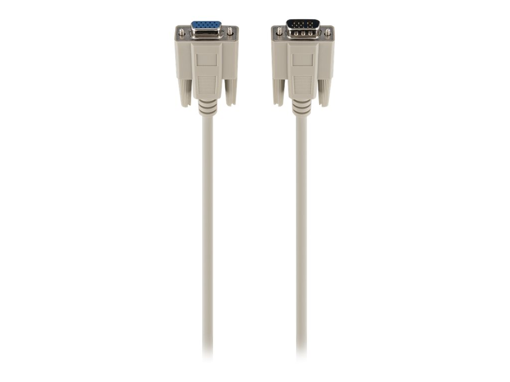 Belkin PRO Series VGA Monitor Extension Cable - VGA extension cable - 1.8 m