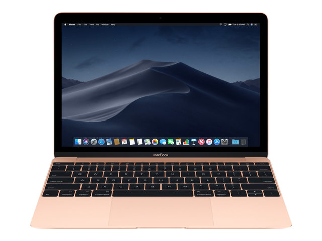 "Apple MacBook - Core i5 1.3 GHz - macOS 10.13 High Sierra - 8 Go RAM - 512 Go SSD - 12"" IPS 2304 x 1440 - HD Graphics 615 - Wi-Fi, Bluetooth - or - kbd : AZERTY"