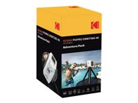 Kodak PIXPRO ORBIT360 4K Adventure Pack 360° action camera mountable 4K / 30 fps