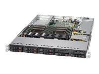 Supermicro SuperServer 1028R-TDW Server rack-mountable 1U 2-way RAM 0 GB SATA