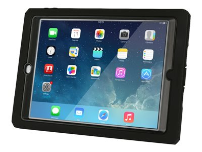 Max Cases Shield Xtreme Case - Back cover for tablet - silicone, polycarbonate, thermoplastic polyurethane (TPU) - black - for Apple iPad Air 2