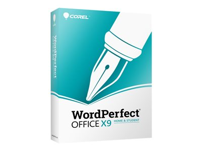 WordPerfect Office X9 Home and Student Edition Box pack 1 user (mini-box) Win