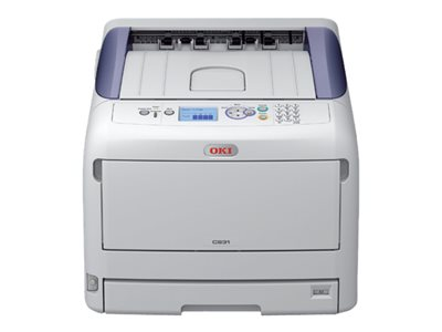 OKI C831dn Printer color Duplex LED A3/Ledger 1200 x 600 dpi
