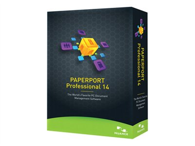 PaperPort Professional (v. 14) box pack 1 user academic DVD Win English