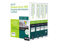 MCITP/MCSA Windows Server 2008 Enterprise Administrator CorePack - Ed. R2