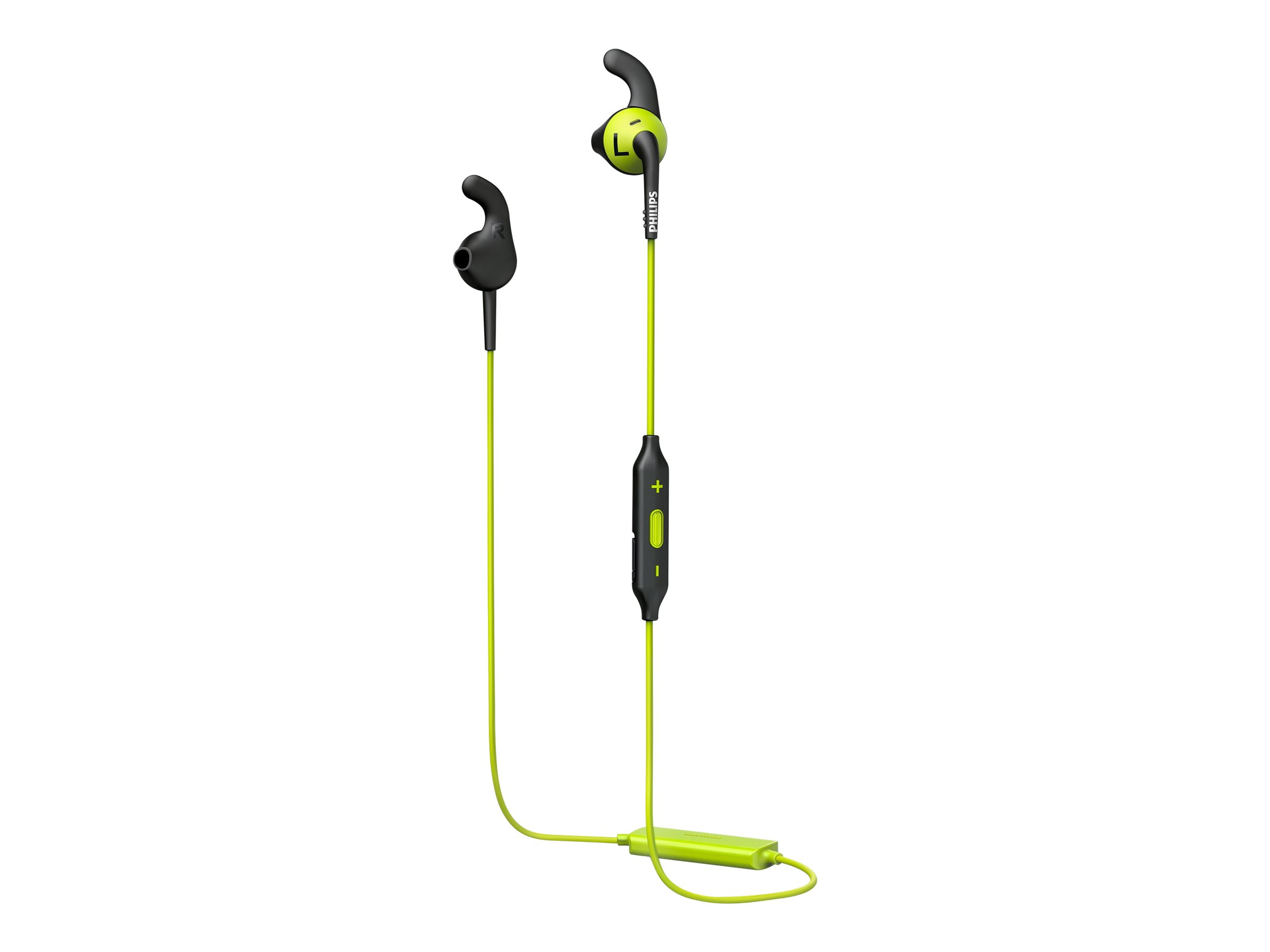 Philips ActionFit RunFree SHQ6500CL - earphones with mic