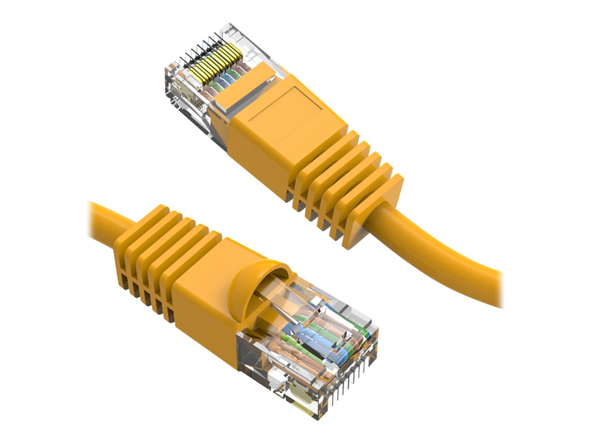 Axiom patch cable - 1.22 m - yellow