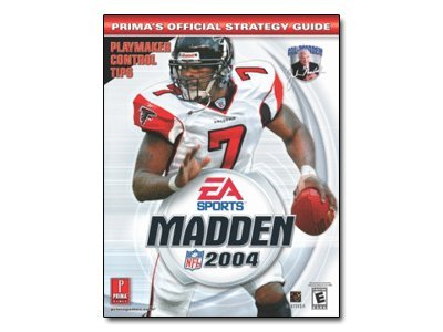 Madden NFL 2004 - Prima's Official Strategy Guide - reference book