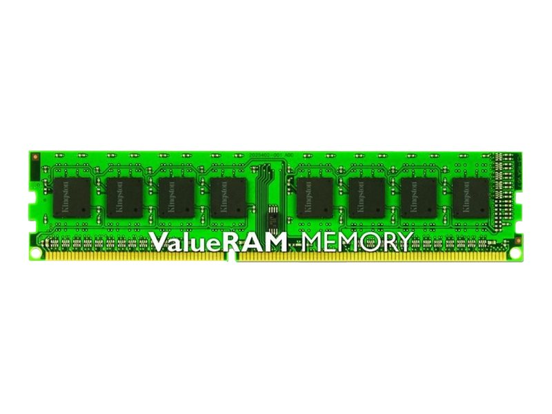 Kingston ValueRAM - DDR3 - 4 GB - DIMM 240-pin - unbuffered