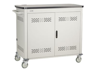 Black Box Double Frame with Medium Slots and Hinged Door Cart for 36 tablets