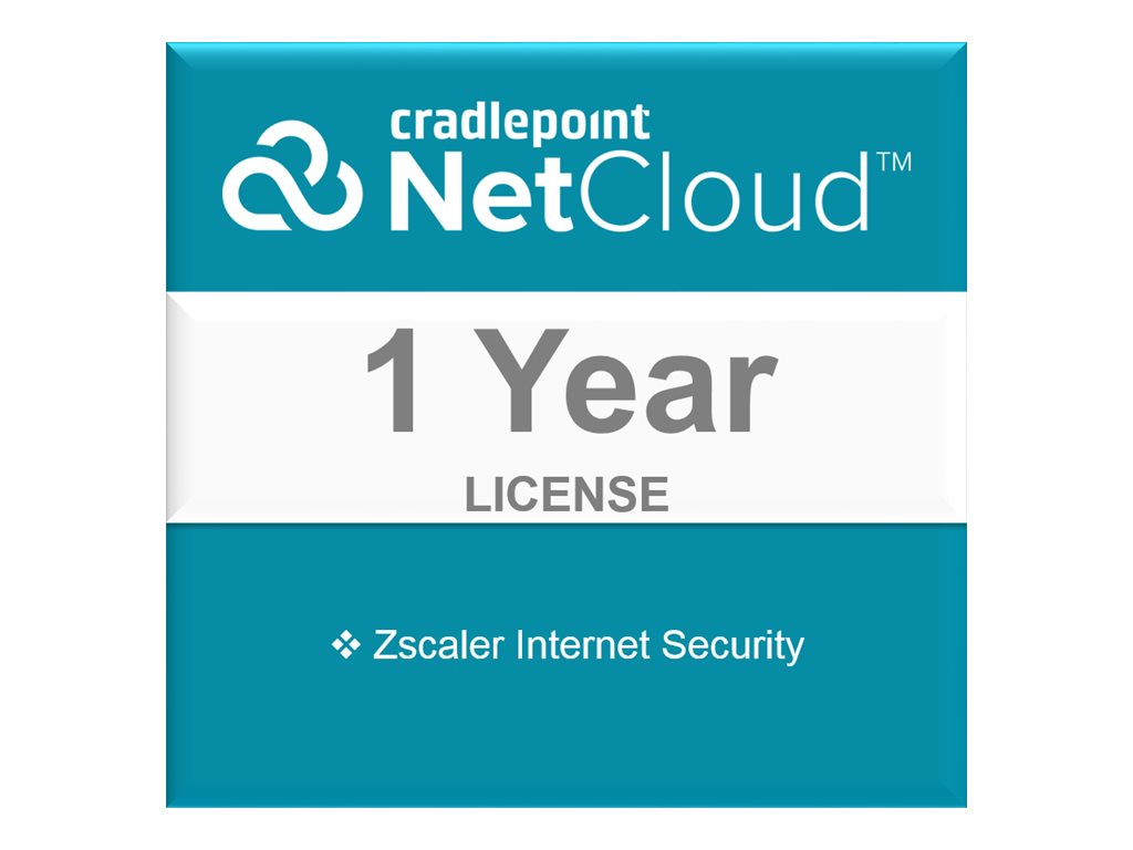 Cradlepoint Zscaler Internet Security - subscription license (1 year) - 1 device