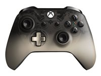 Microsoft Xbox Wireless Controller - Phantom Black Special Edition - gamepad - wireless - Bluetooth - translucent black - for PC, Microsoft Xbox One, Microsoft Xbox One S, Microsoft Xbox One X