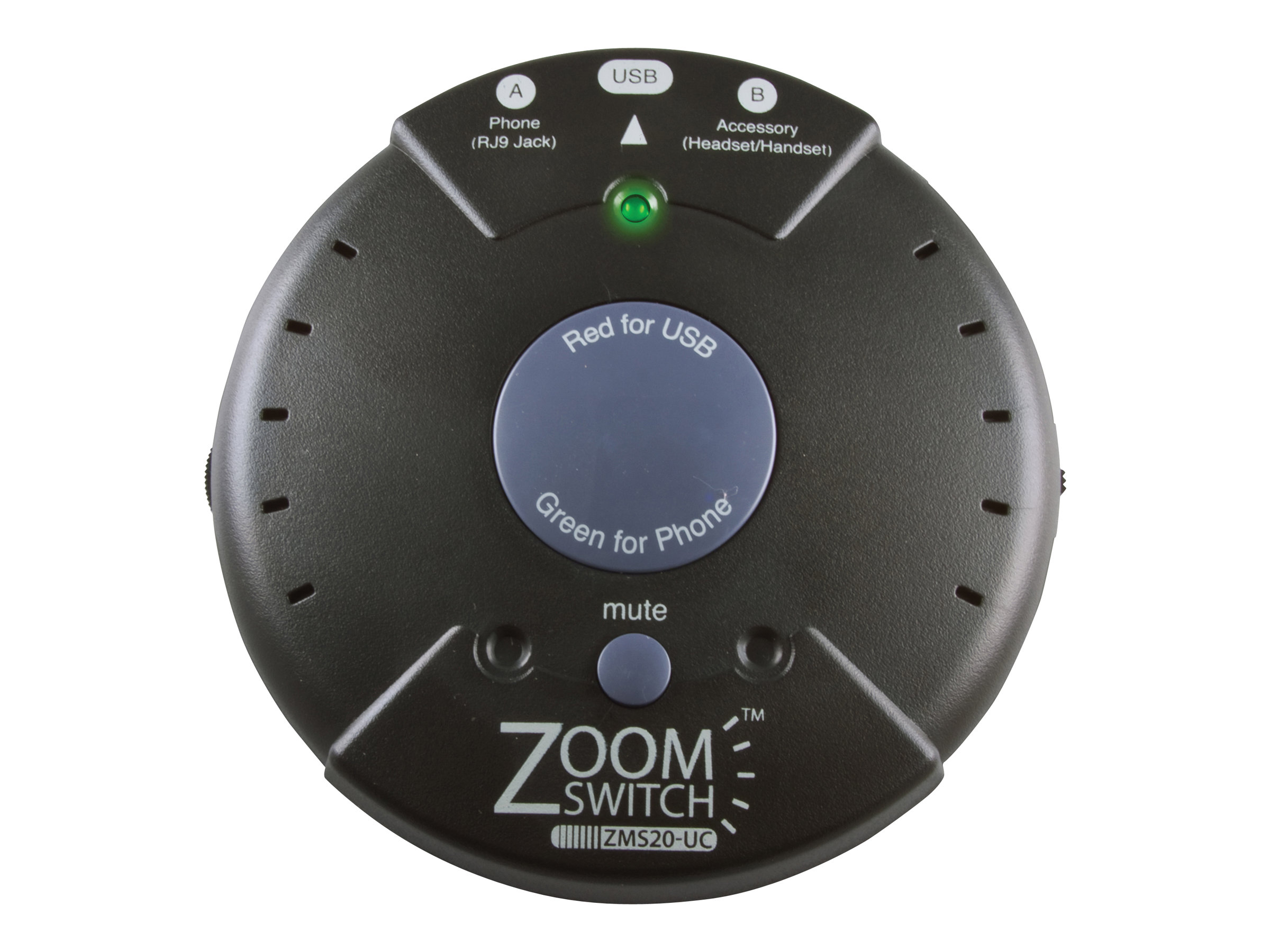 ZoomSwitch ZMS20-UC - handset/headset switch